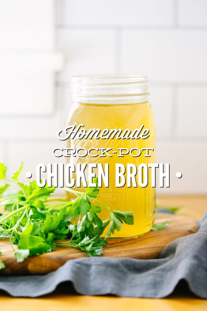I'll never go back to store-bought broth again! Made with