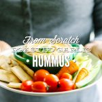 From Scratch Roasted Garlic Hummus