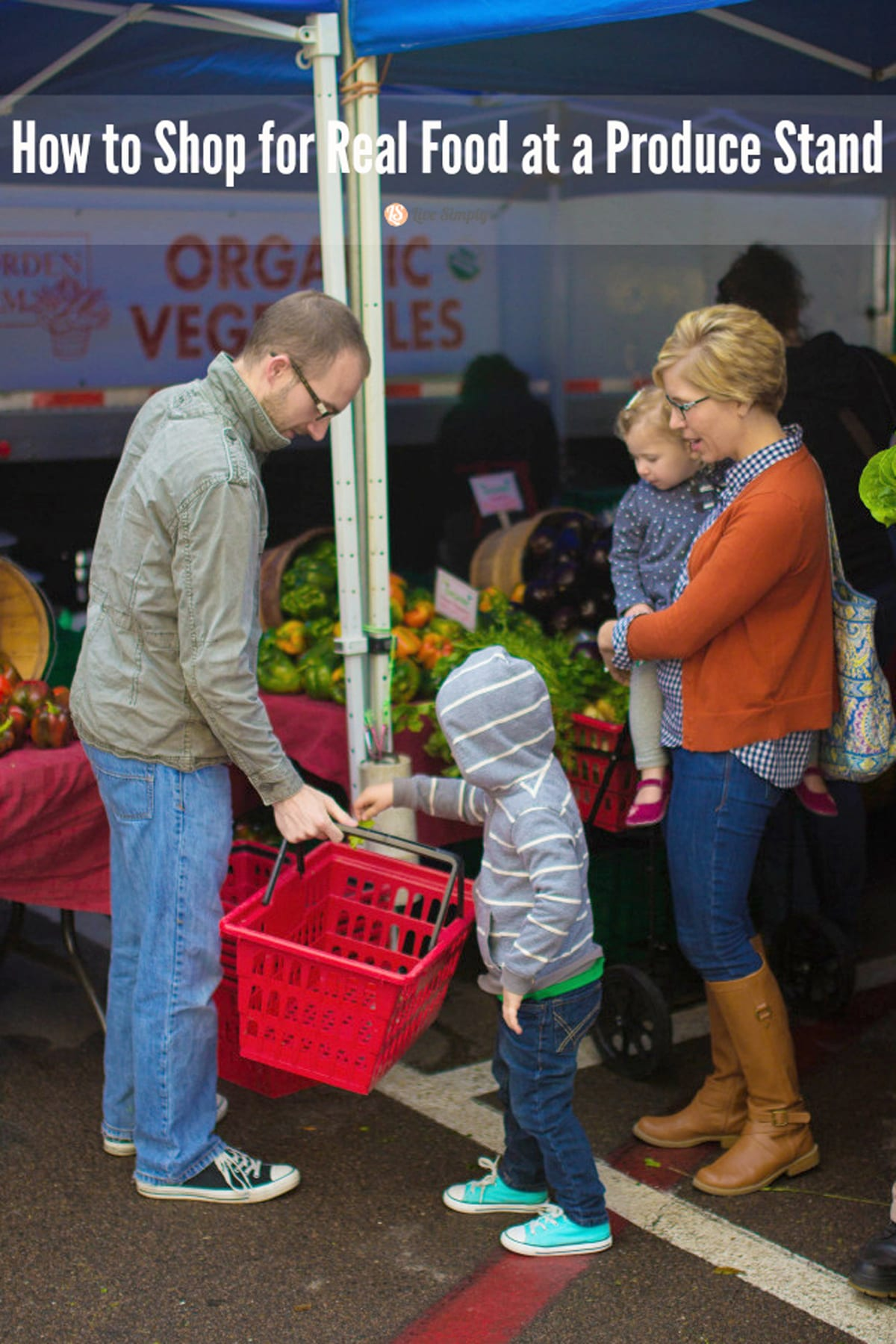 How to shop for real food at a produce stand