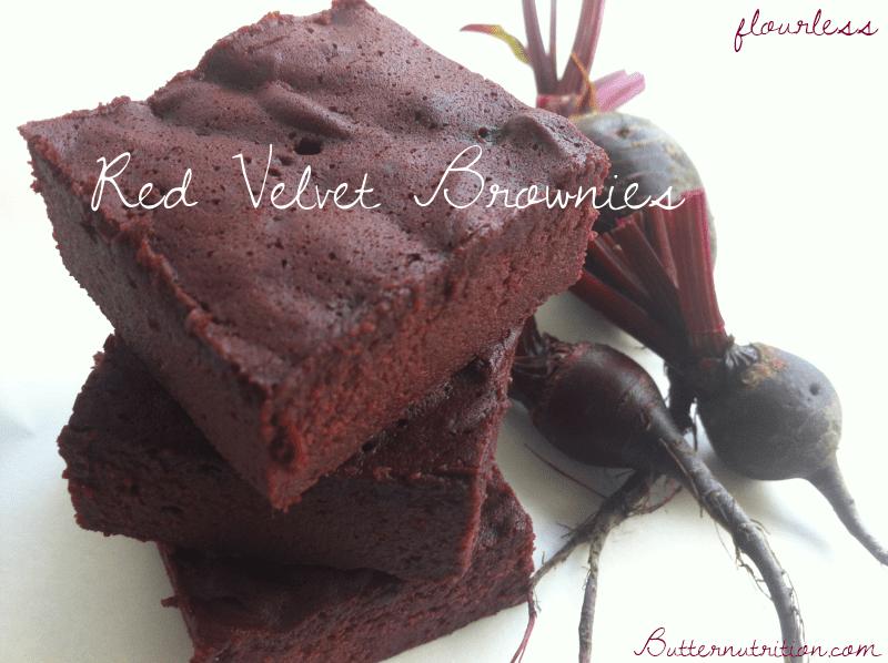Flourless-Red-Velvet-Brownies
