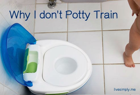 potty training text