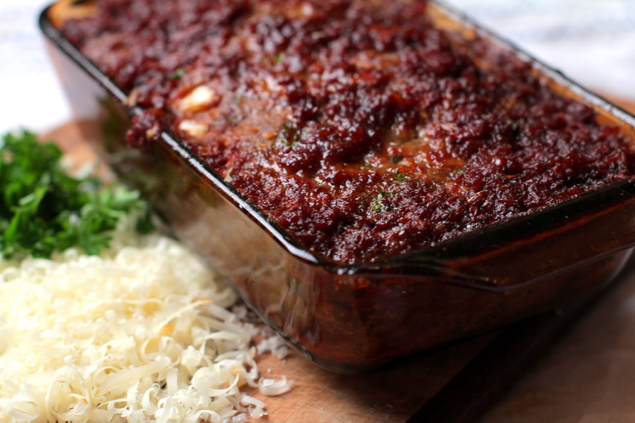 Sundried Tomato and Herb Meatloaf