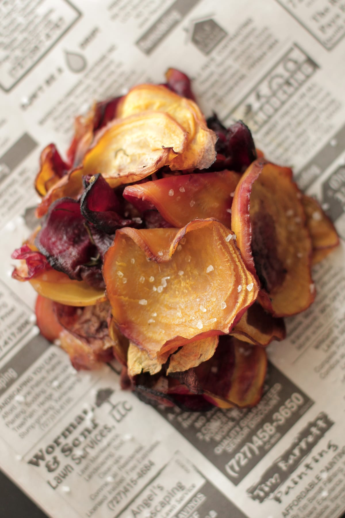 Homemade Beet Chips. So good! Just like healthy potato chips, but good ...