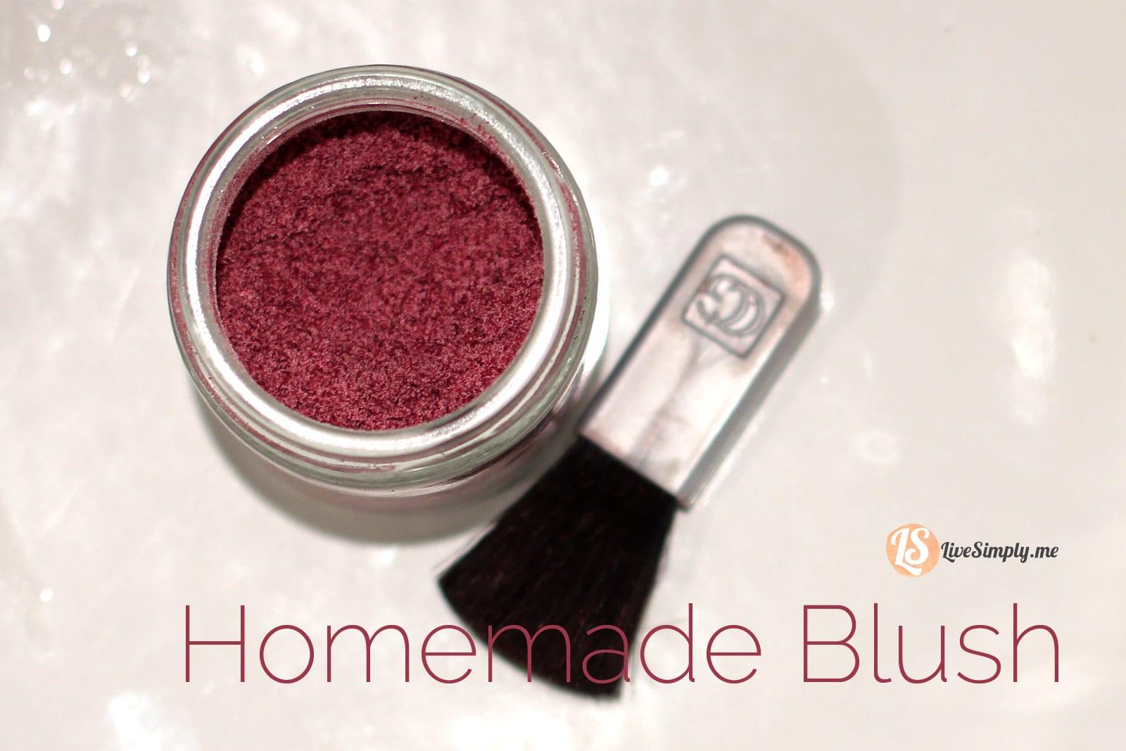 Diy homemade blush live simply for Homemade diy