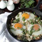 Creamy Swiss Chard and Eggs