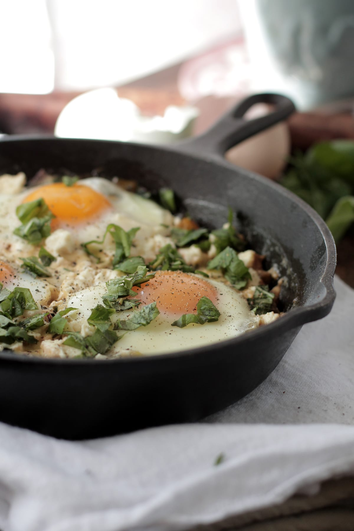 ... Swiss Chard and Eggs pairs perfectly with fresh toast, yummy biscuits