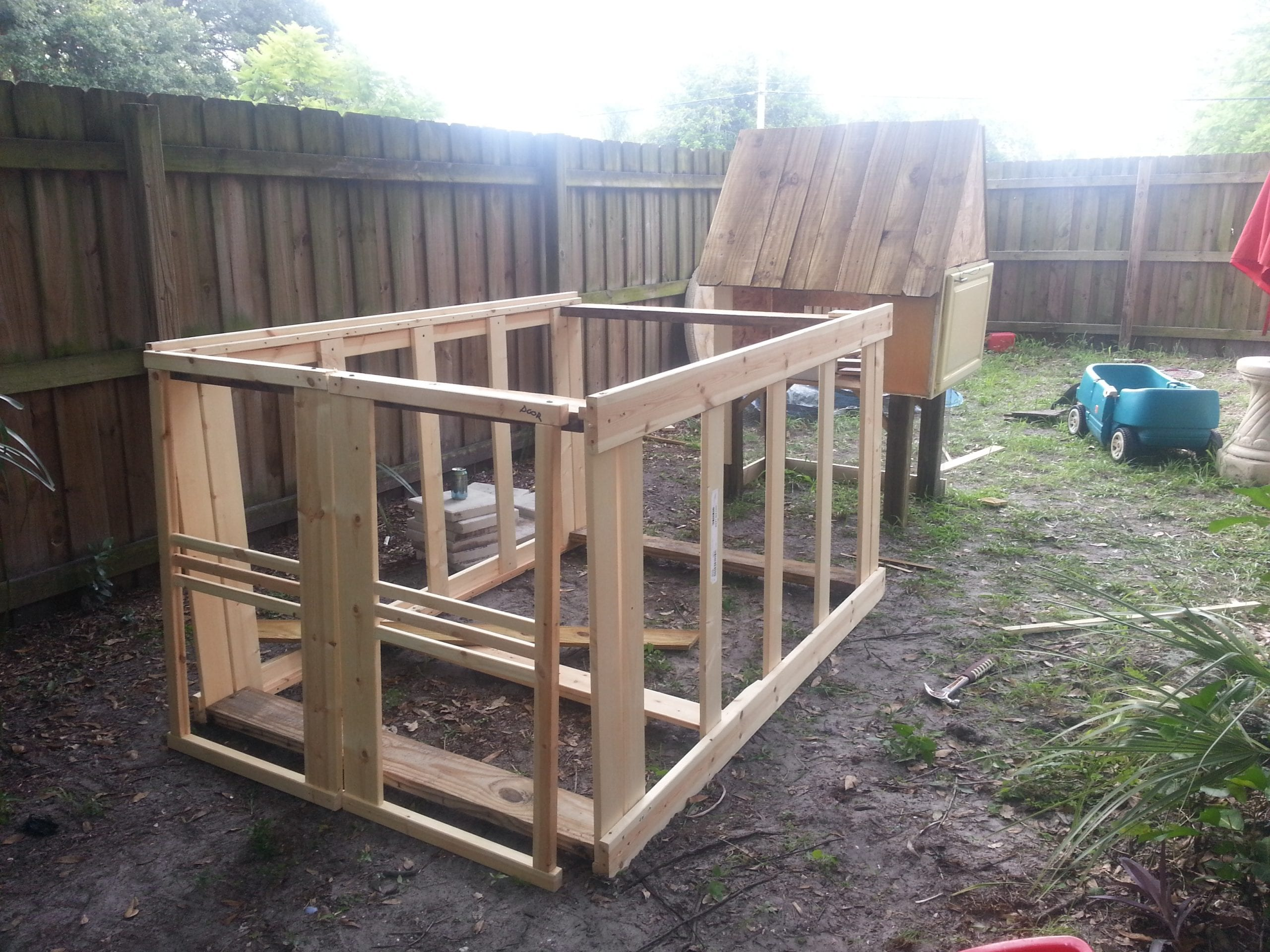 how to build a chicken coop for less than 50 live simply