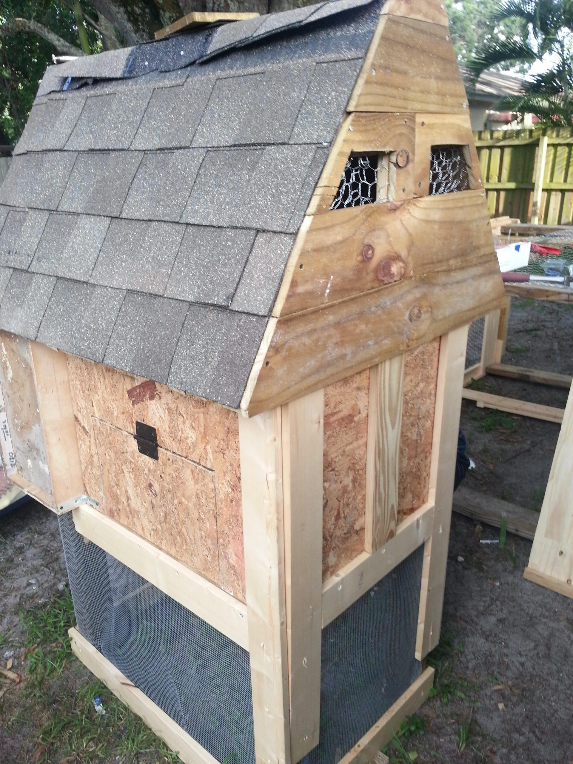 How To Build A Chicken Coop For Less Than 50 Live Simply Am Planning On Wiring My New Shed Soon But Need Check I Doing Inside The You Want Provide An Area Appropriately Spaced One Foot Apart Hens Roost Or Sleep Dowel Works Well