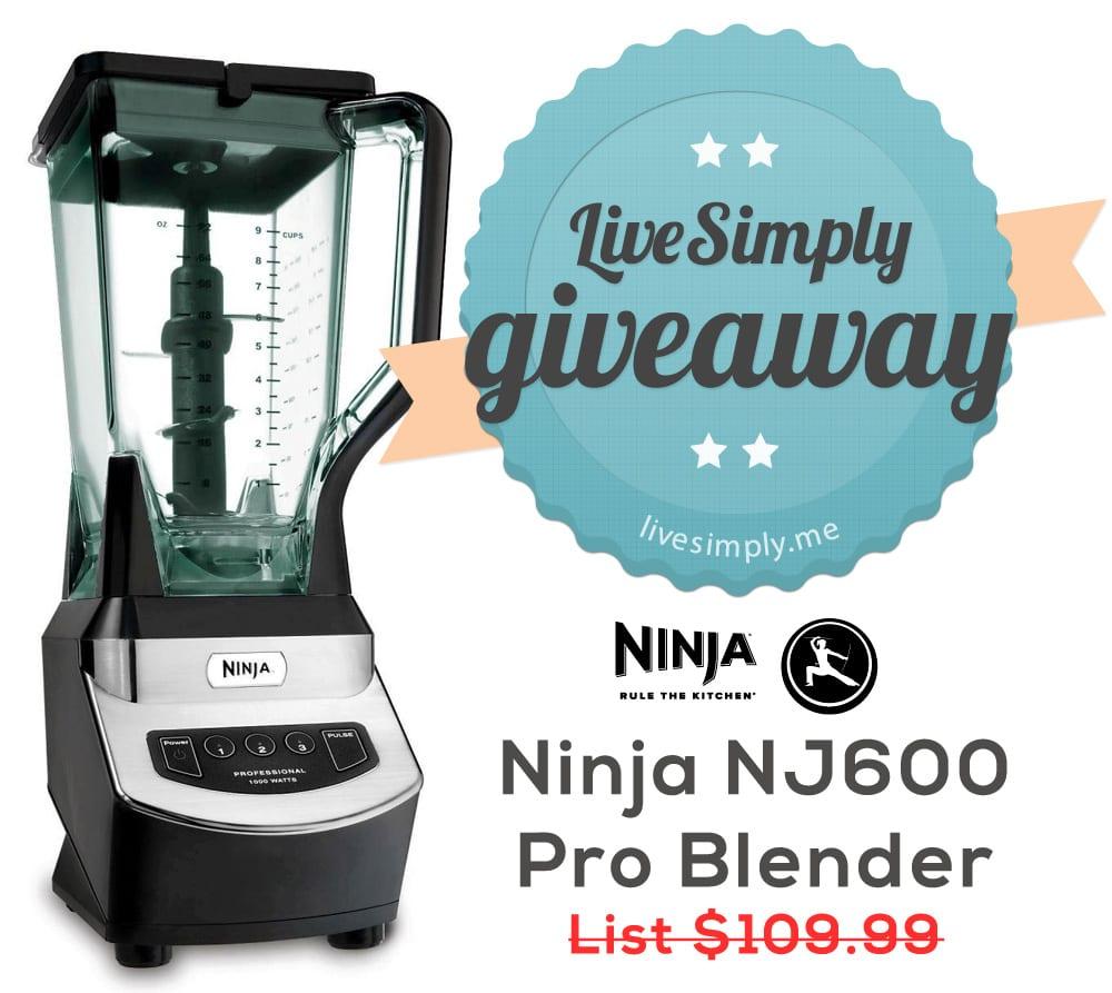 Giveaway Ninja Pro Blender