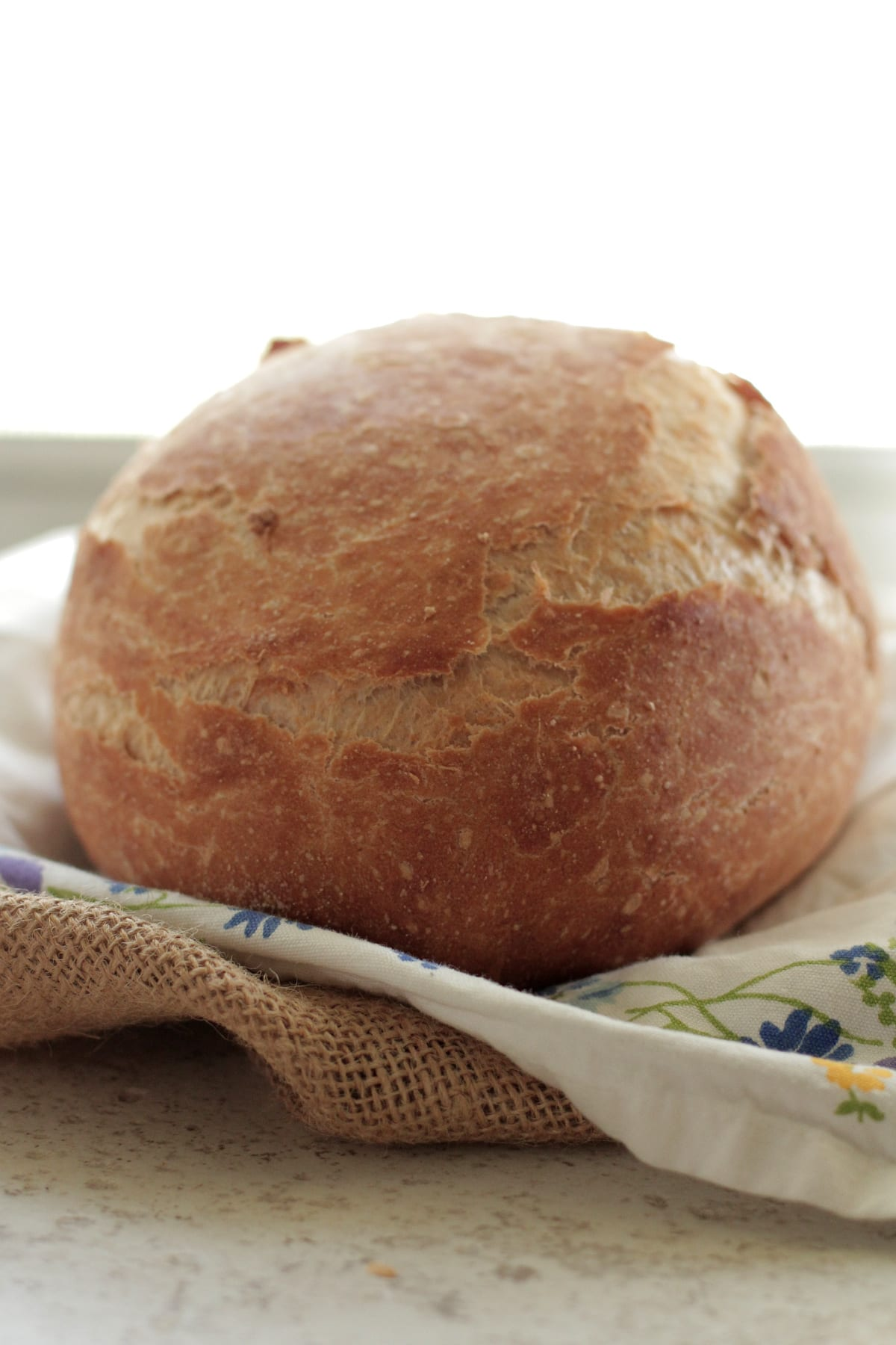 ... crusty on the outside, soft on the inside homemade bakery-like bread