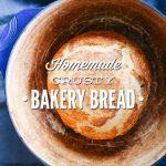 Homemade Crusty Bakery Bread