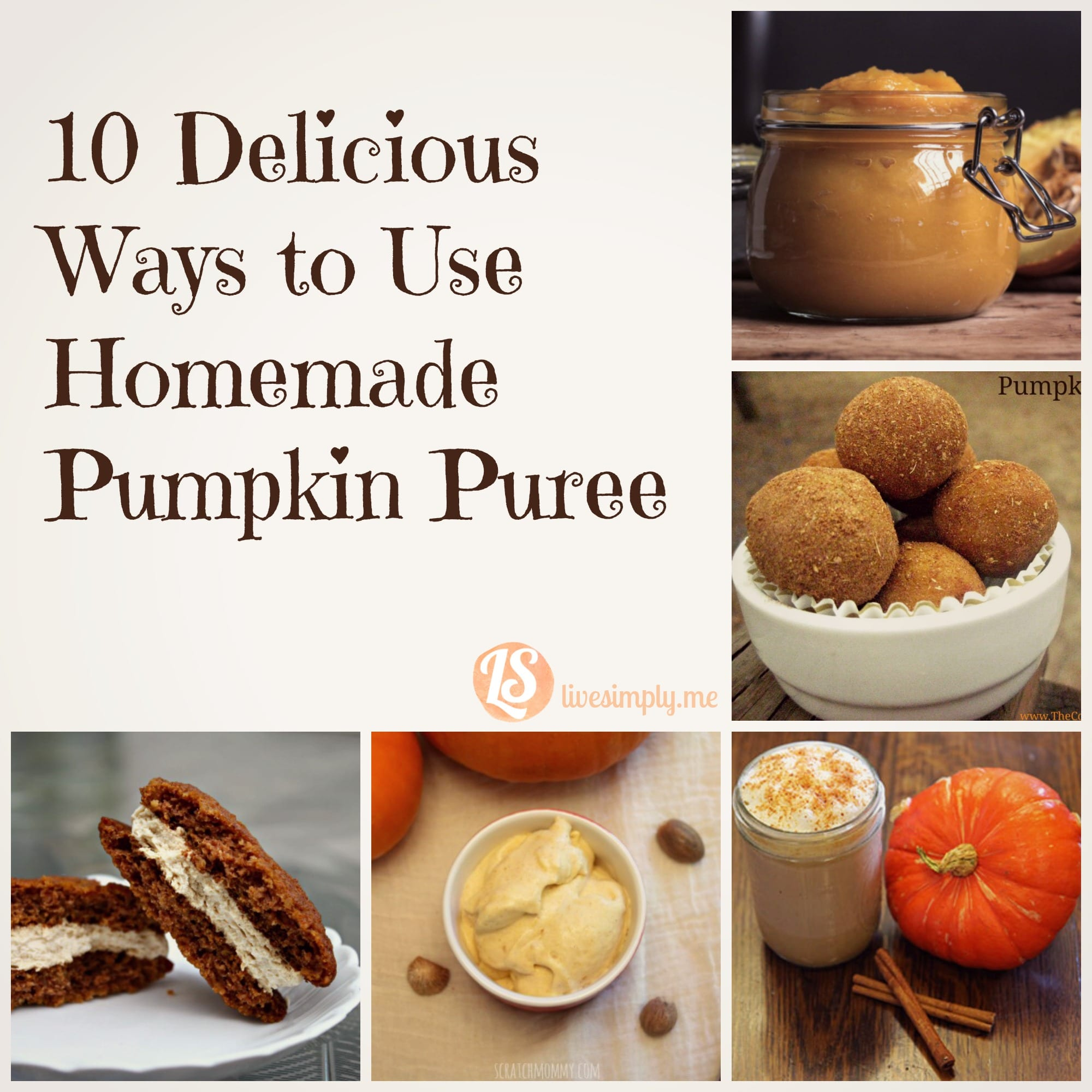 Ten Delicious Ways to Use Homemade Pumpkin Puree - Live Simply