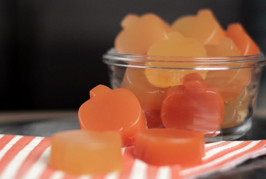 homemade gummy snacks