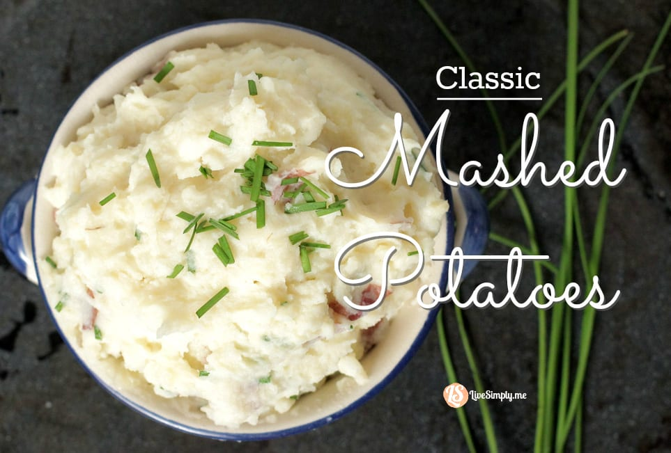 classic-mashed-potatoes - Live Simply