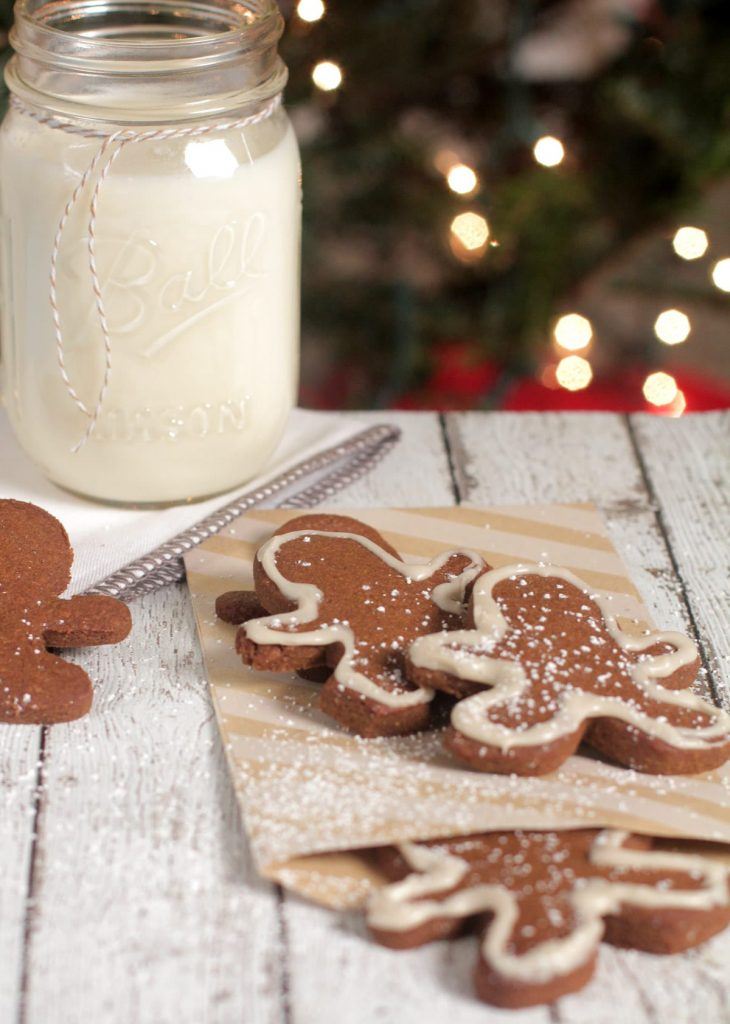 So easy to make and healthy! Made with whole wheat flour and sucanat. Perfect gift and kid-friendly. Best Gingerbread men.