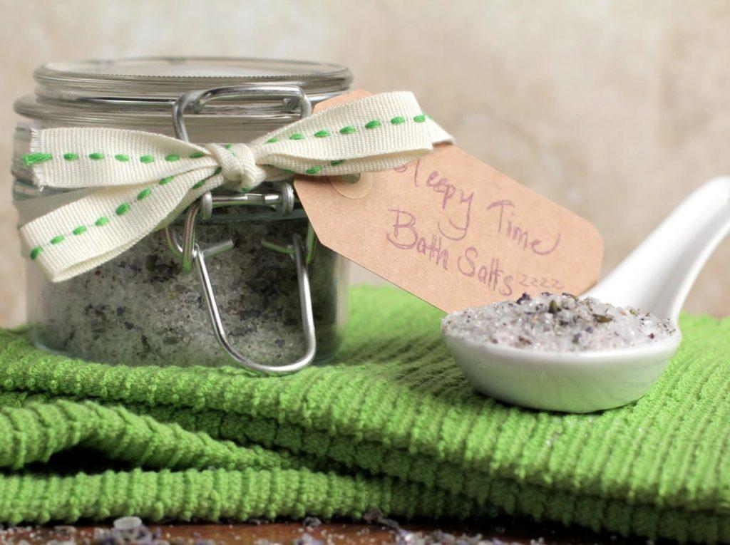 sleep promoting bath salts