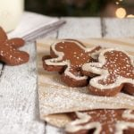 healthy homemade gingerbread