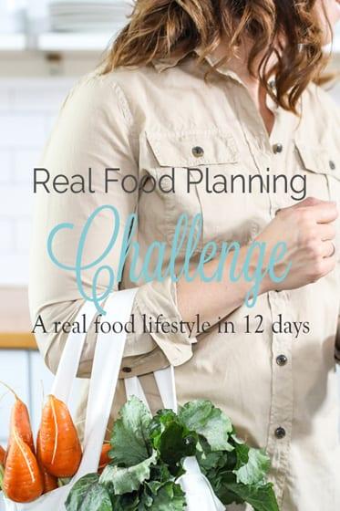 Real Food Planning Challenge