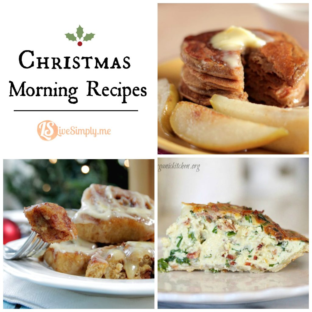 Christmas Morning Real Food Recipes - Live Simply