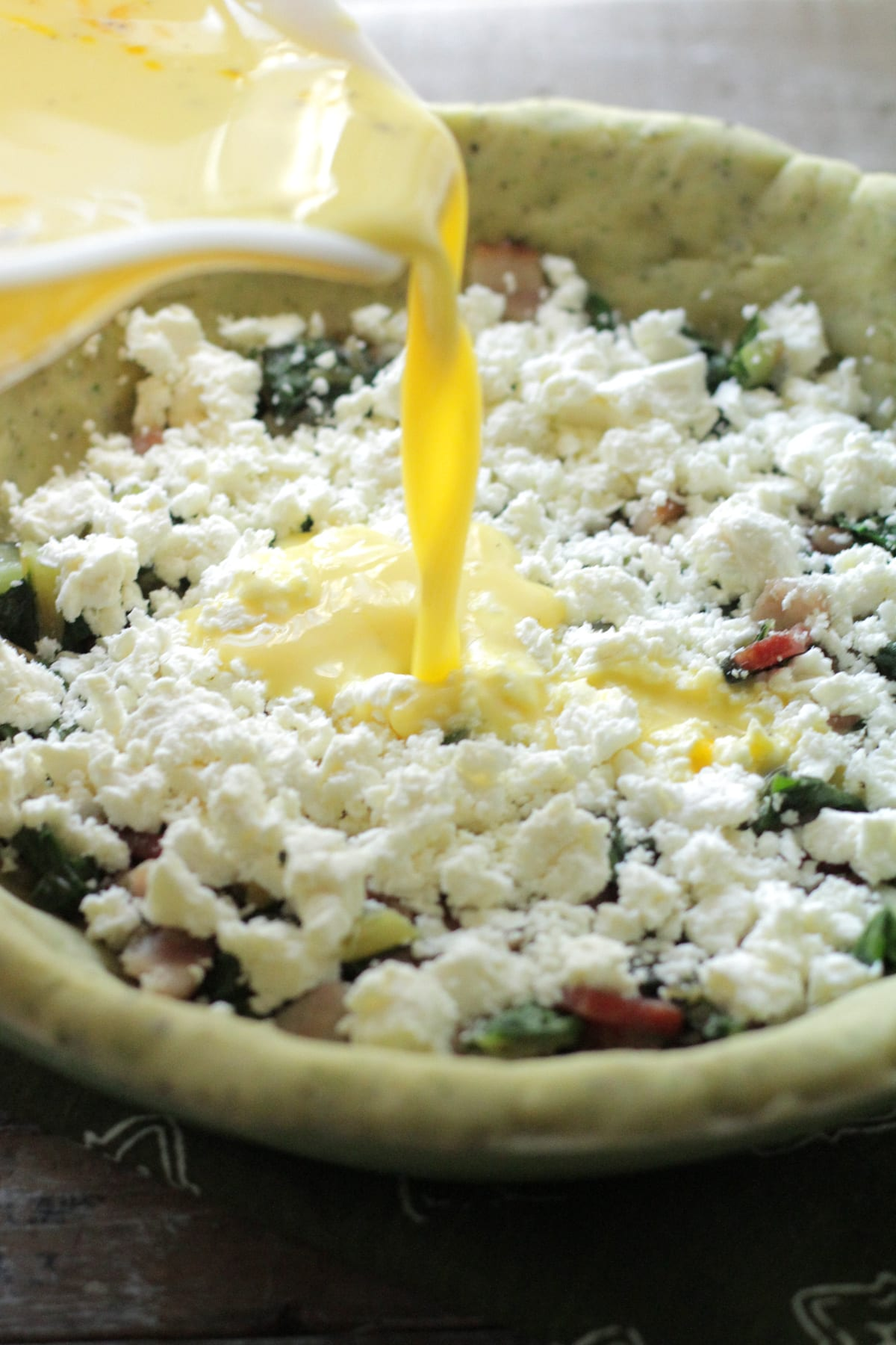 bacon-chard-feta-herb-quiche-2 - Live Simply