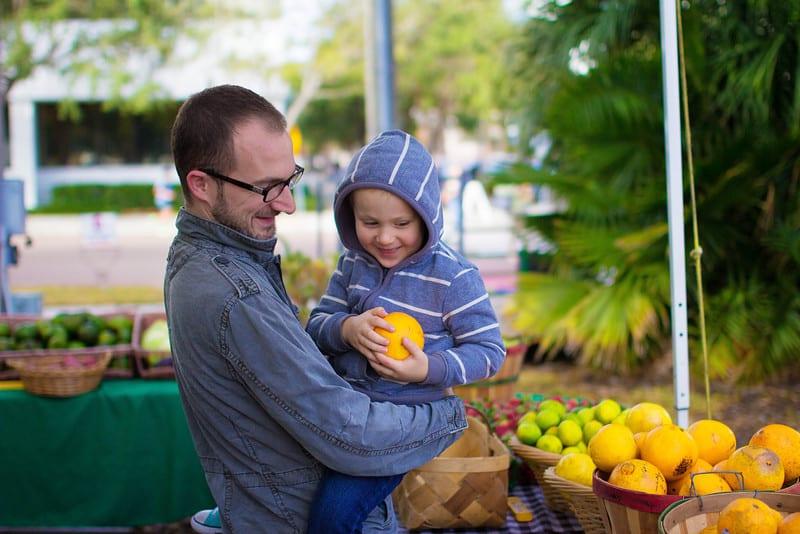 Child's diet nutrient dense