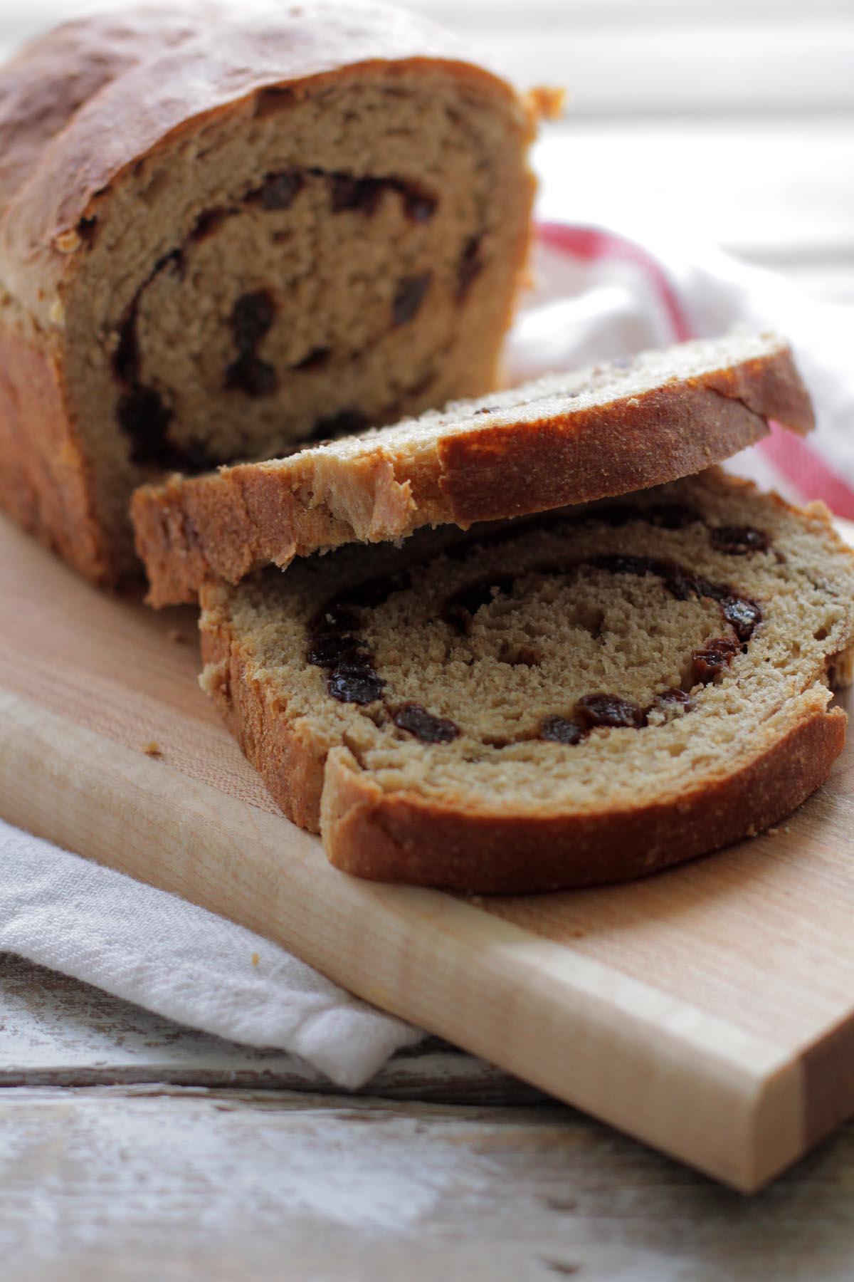 Soaked Whole Wheat Amp Cinnamon Raisin Bread Live Simply