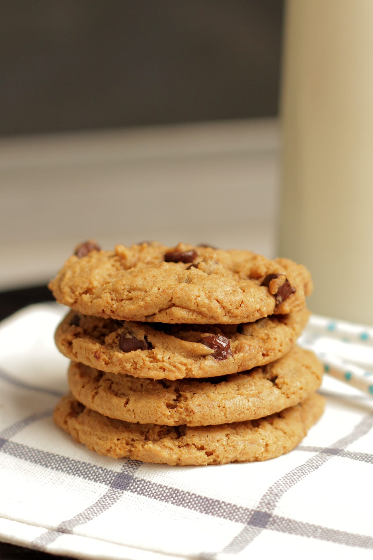Soaked Chewy Whole Wheat Chocolate Chip Cookies - Live Simply