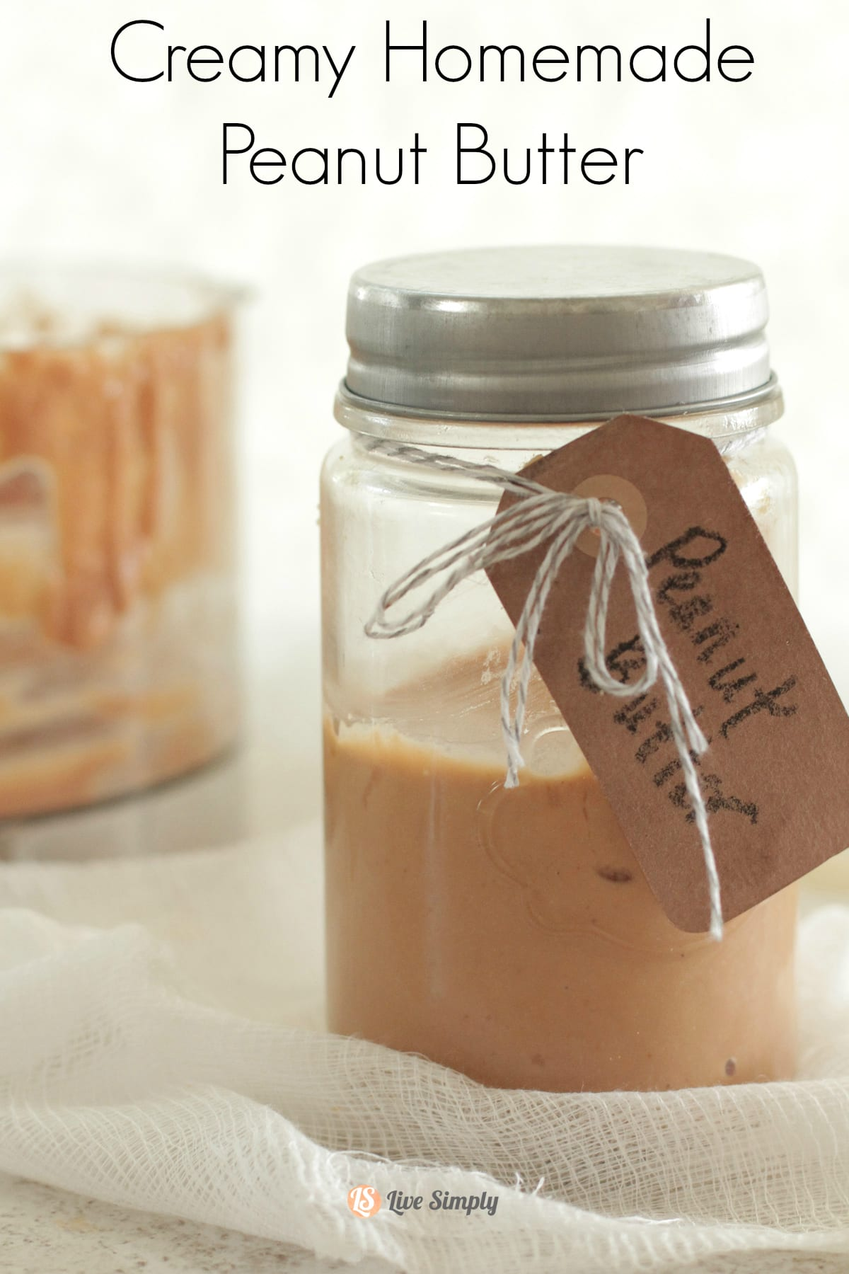 Homemade Peanut Butter. Best peanut butter I've ever had! So easy ...