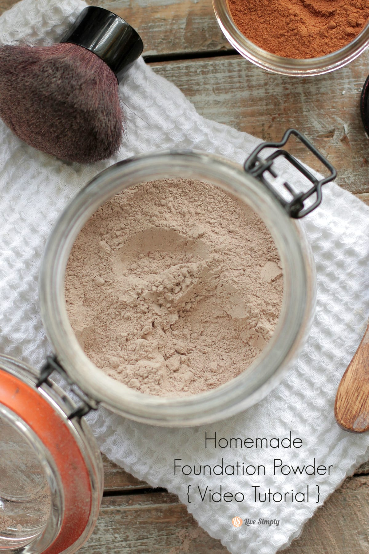 Homemade Foundation Powder Recipe