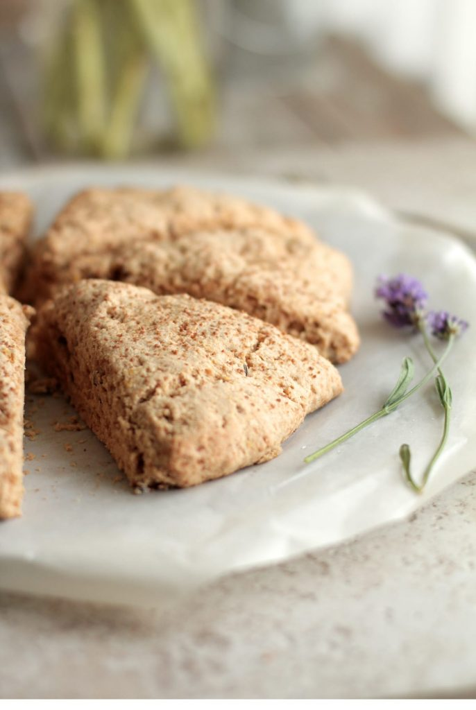 BEST whole wheat scones
