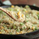 spring-quinoa-peas-onions-corn