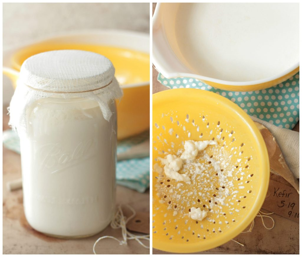 How to make homemade milk kefir. The simplest tutorial to healthy probiotic kefir at home.