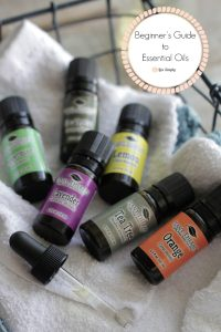 beginners guide essential oils