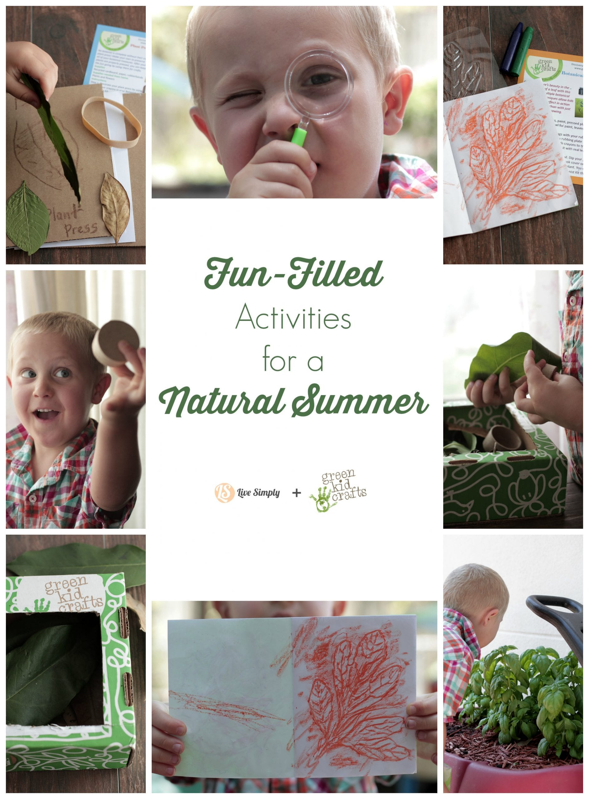Fun-Filled Activities for a Natural Summer - Live Simply
