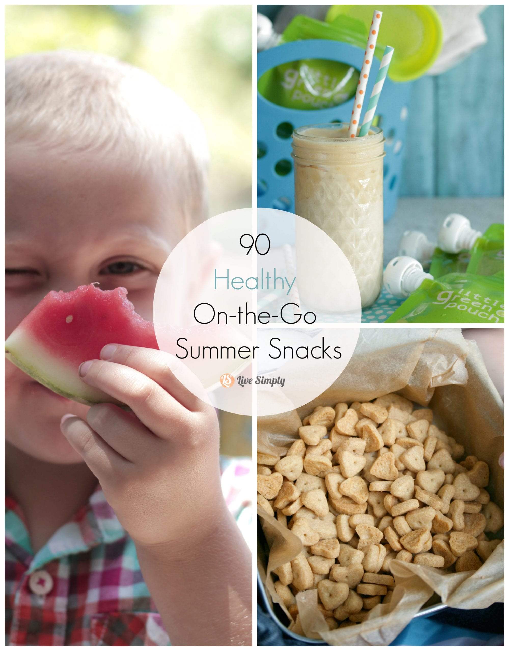 90 Healthy On-the-Go Summer Snacks for Kids