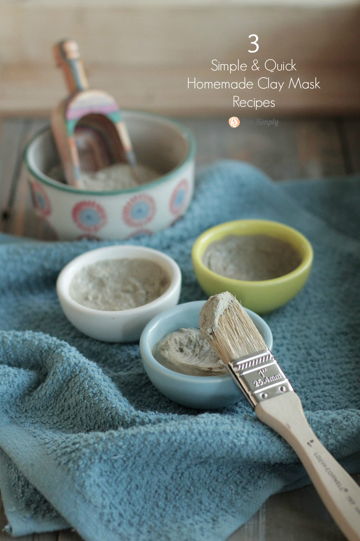 3 simple quick homemade clay mask recipes live simply homemade clay mask recipes solutioingenieria Gallery