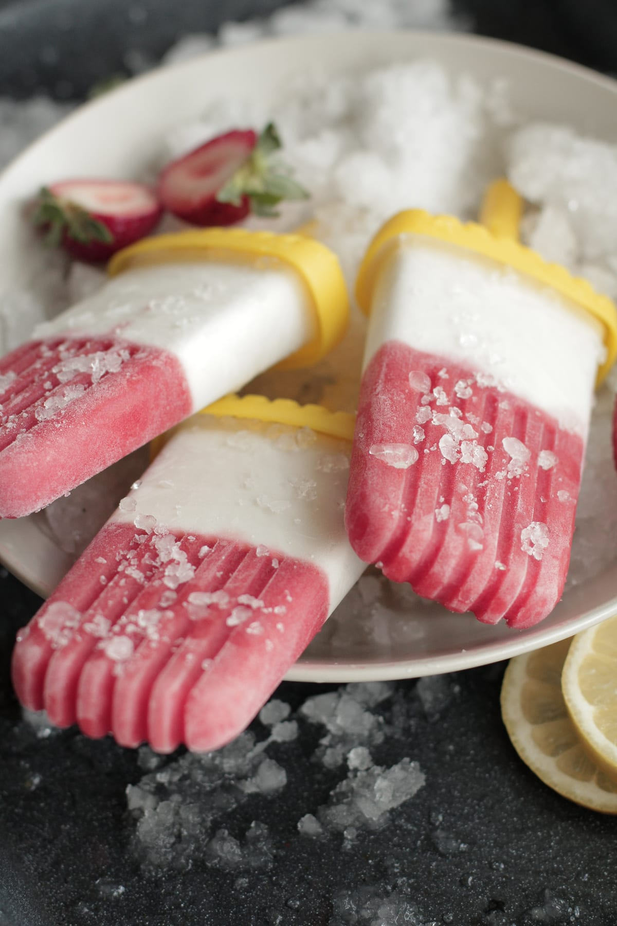 Creamy Strawberry Lemonade Popsicles Recipes — Dishmaps