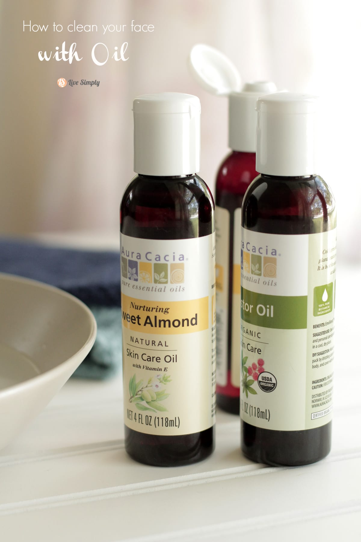 How To Clean Your Face Naturally With Oil Live Simply Clear Acne Clearing Cleanser Up 100 G A Photo Tutorial All Of The