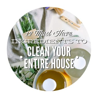 INGREDIENTS TO CLEAN YOUR ENTIRE HOUSE, NATURALLY