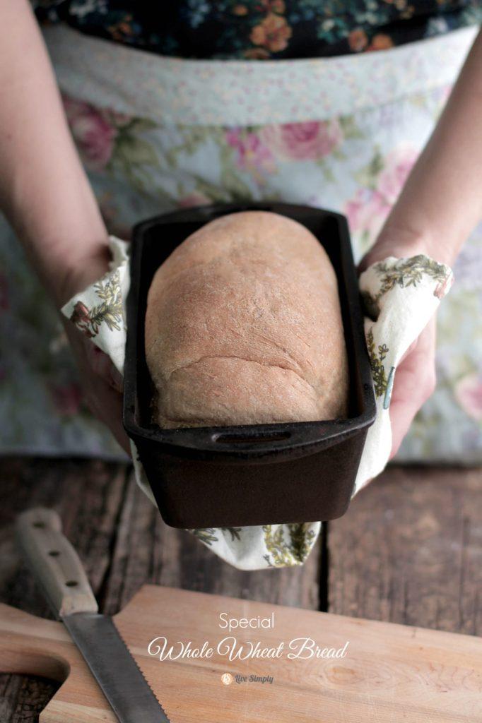 Special whole wheat bread recipe