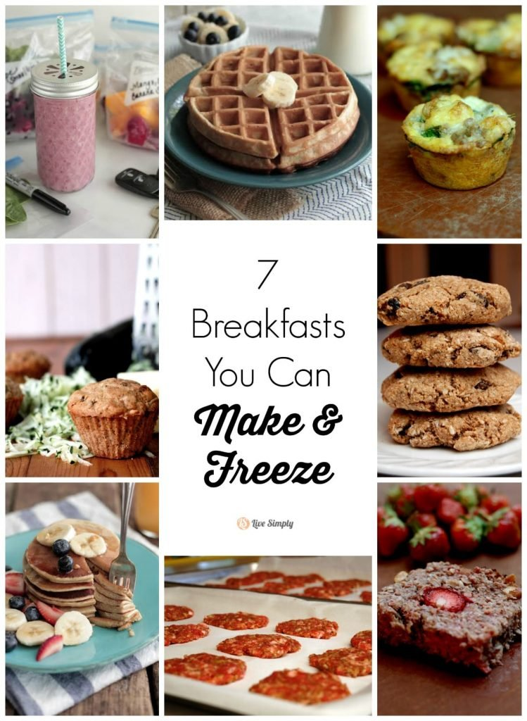 7 Breakfasts You Can Make & Freeze. Have breakfast mostly done in advance waiting for you in the freezer