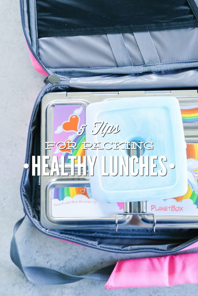 Five Tips for Packing Healthy Lunches