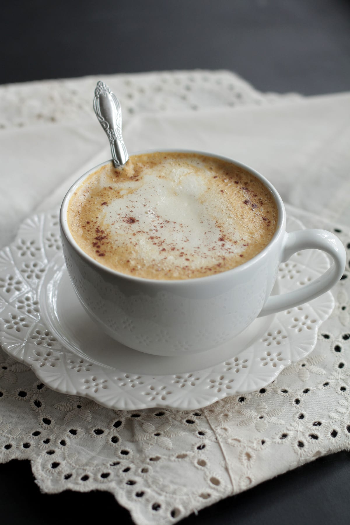 Homemade Pumpkin Spice Latte (Real Food Version)