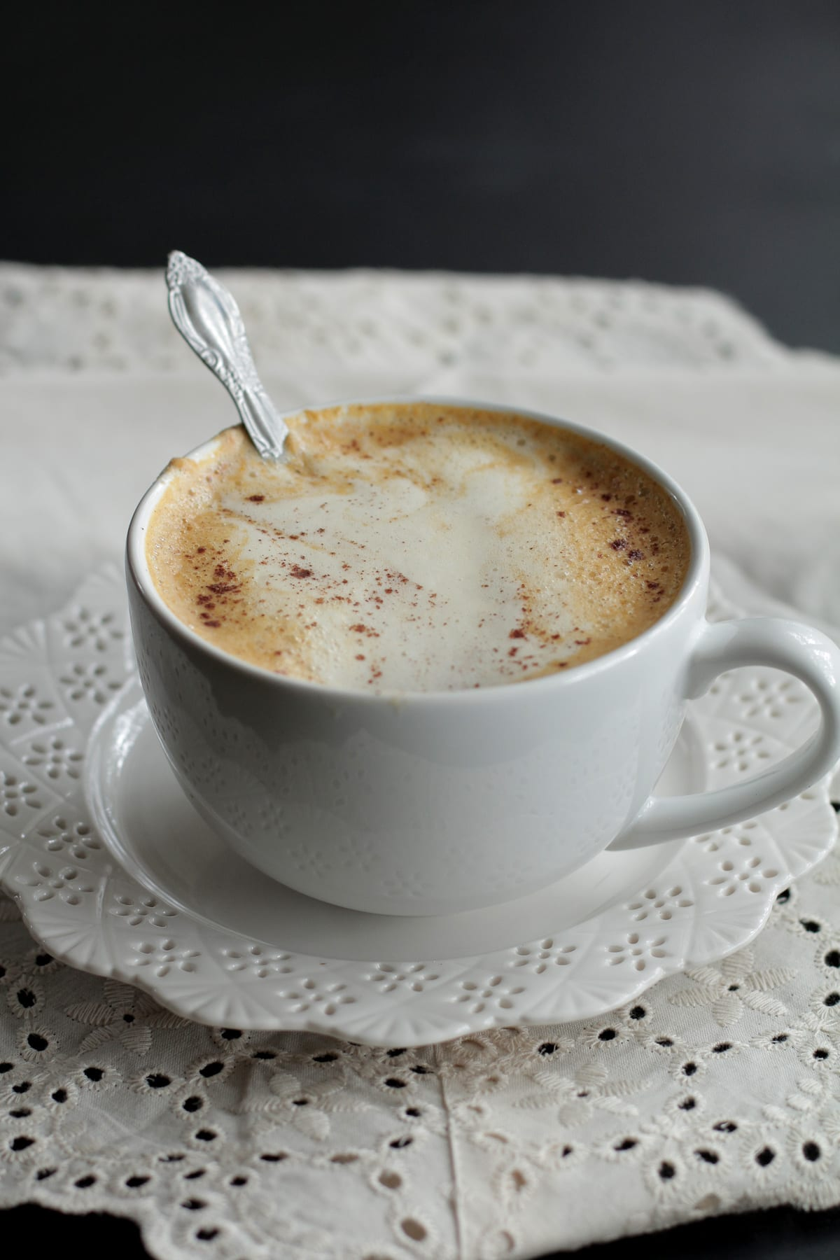 Homemade Pumpkin Spice Latte - Real Food Version