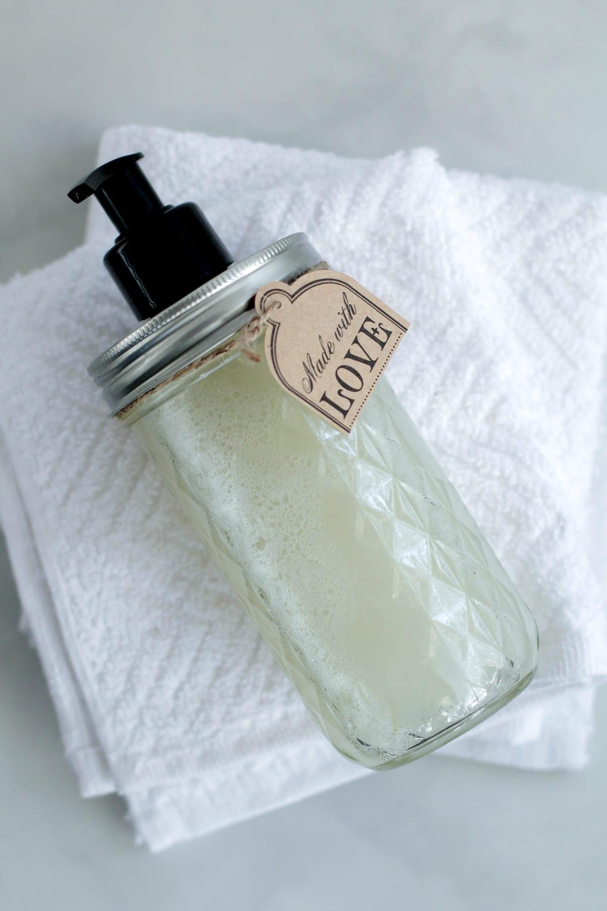 Diy Homemade Liquid Hand Soap Live Simply