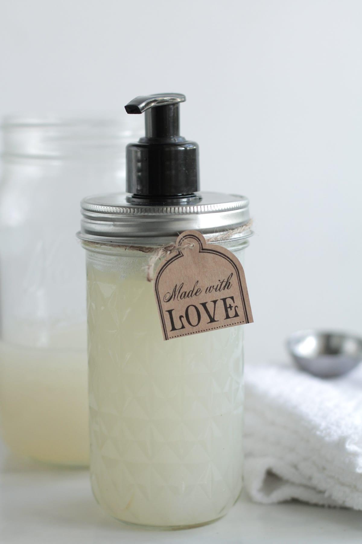 homemade liquid