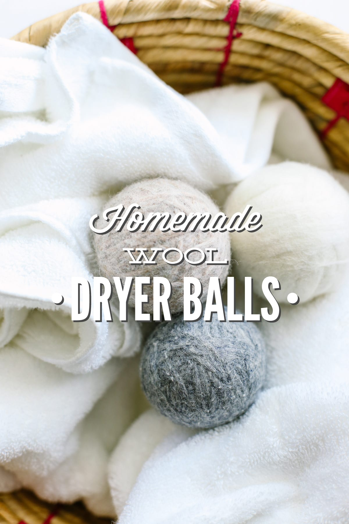 Diy Homemade Wool Dryer Balls Live Simply