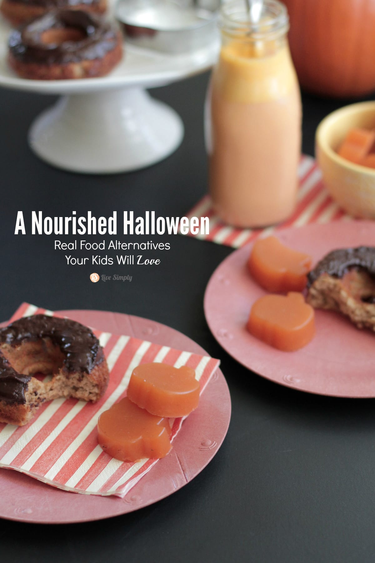 Real Food alternatives for halloween