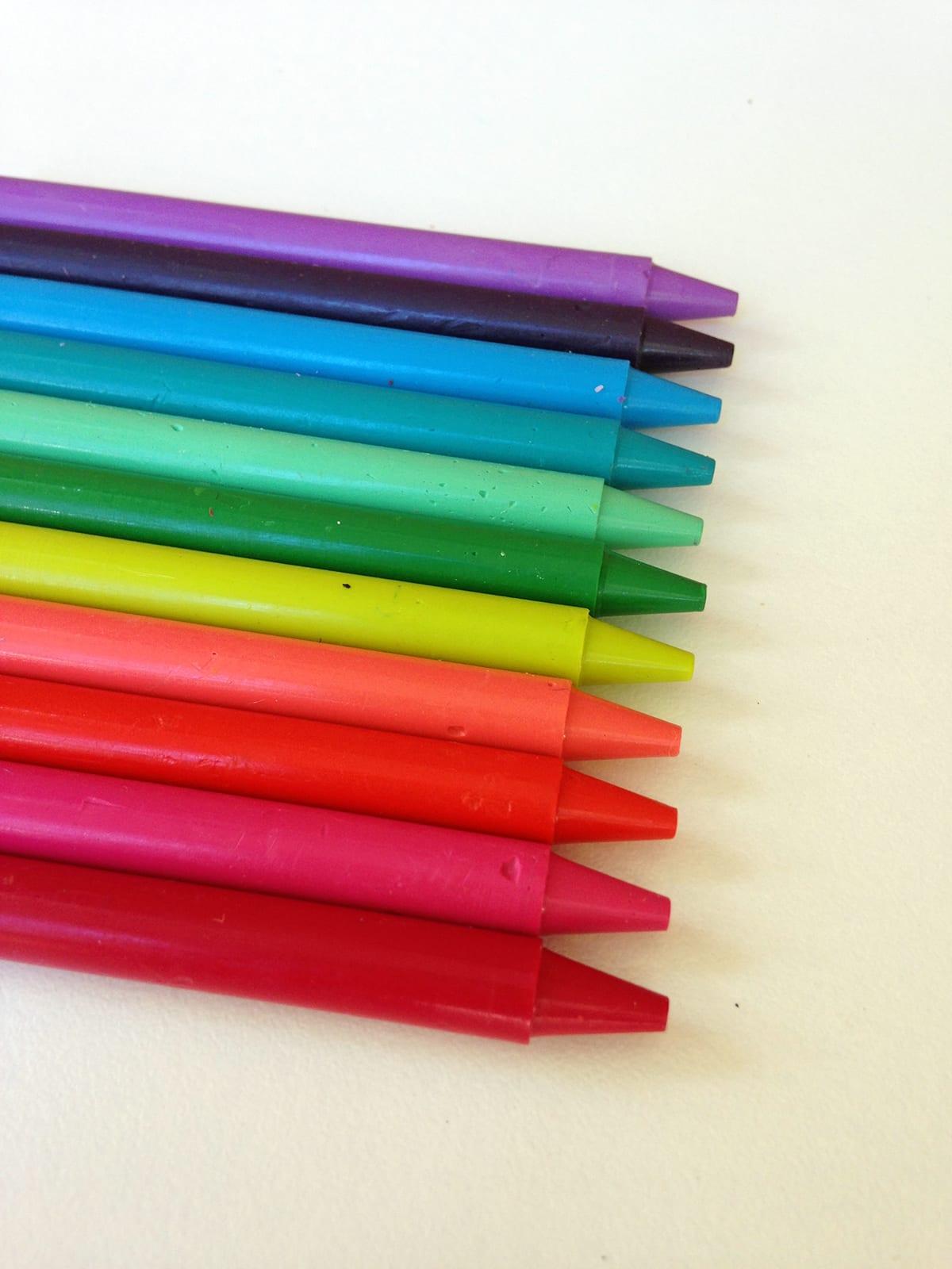 DIY Homemade Crayons for Halloween