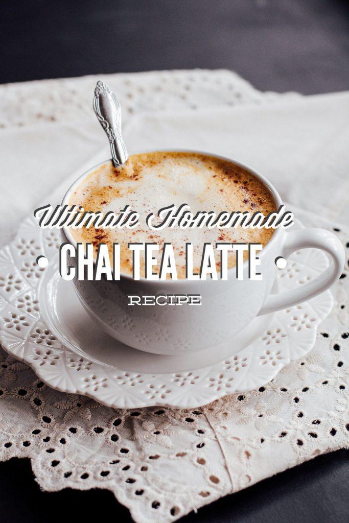 homemade chai tea latte recipe